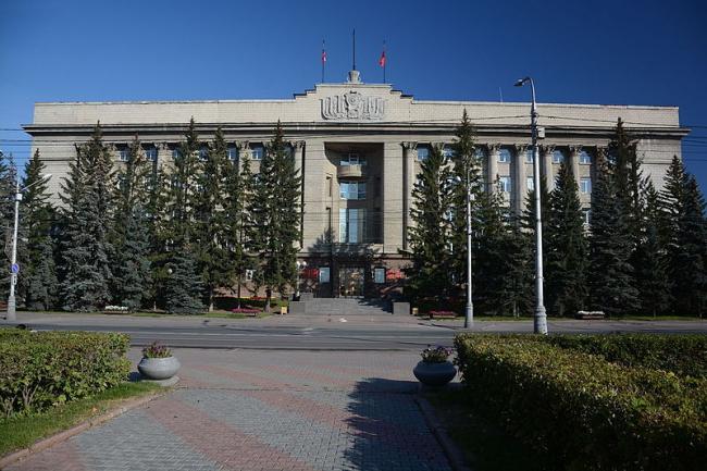 Дом Советов в Красноярске. Фото: Геннадий Троицкий via Wikimedia Commons. Лицензия CC-BY-SA-4.0