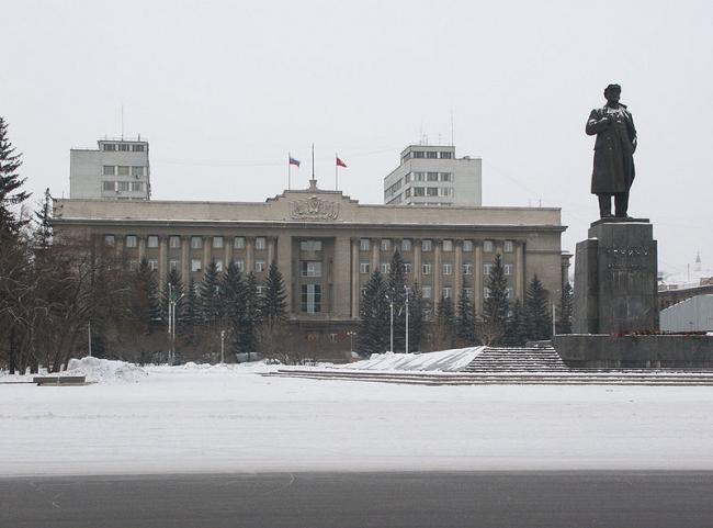 Дом Советов в Красноярске. Фото:  Vadim Zhivotovskiy via Wikimedia Commons. Фото находится в общем доступе