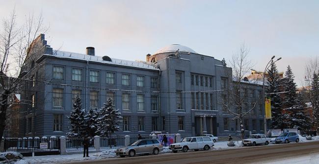 Здание Сибирского революционного комитета. Фото: Timur Voronkov via Wikimedia Commons. Фото находится в общем доступе