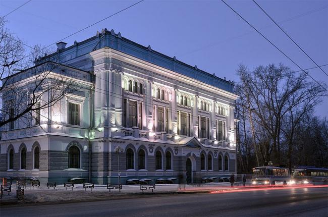 Библиотека Томского университета. Фото: Павел Андрющенко via Wikimedia Commons. Лицензия CC BY-SA 3.0