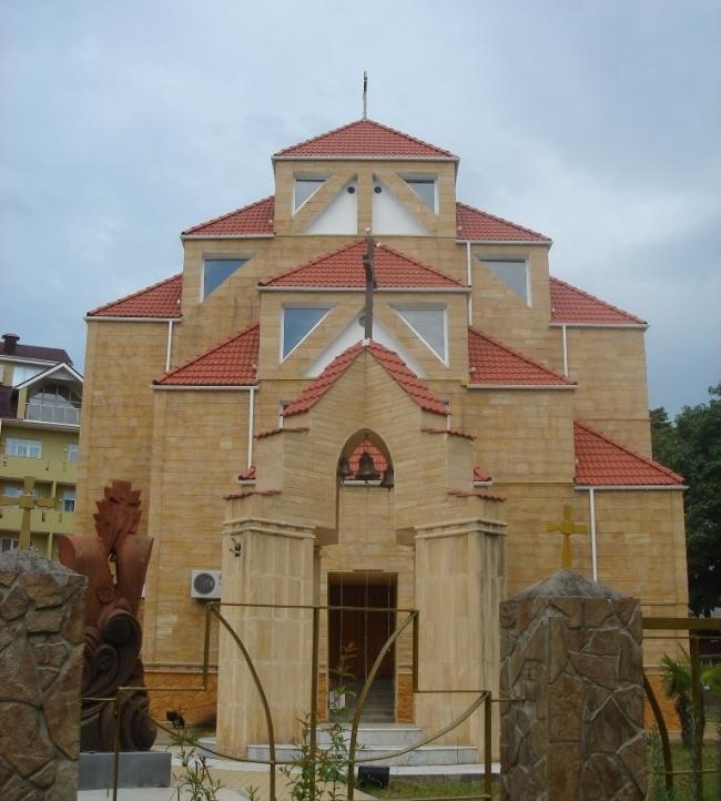 Собор Святого Саркиса. Фото: Юрик Шахвердян (Yurkuz) via Wikimedia Commons. Лицензия CC BY-SA 3.0