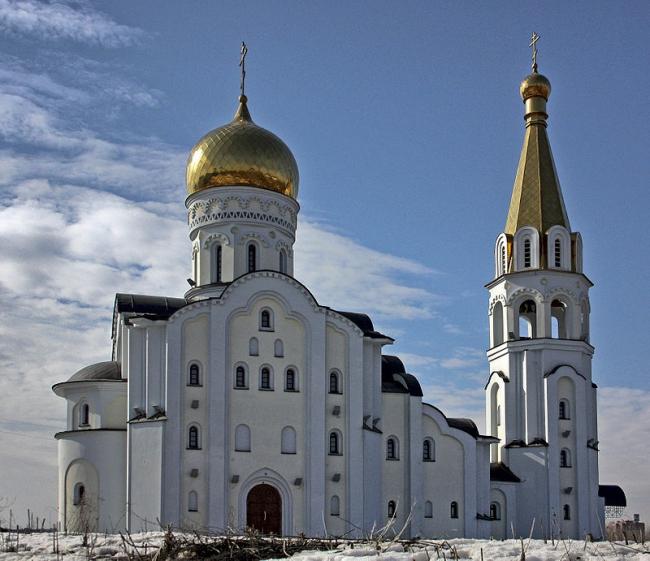 Храм в честь святой мученицы Татианы в Самаре. Фото: Виктор Андреев via Wikimedia Commons. Лицензия CC BY 3.0