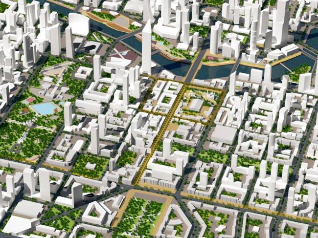 Градостроительная концепция развития центра города Челябинска © Илья Заливухин