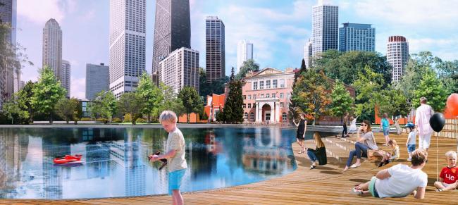 Челябинск 2050. Градостроительная концепция развития центра города Челябинска© Илья Заливухин
