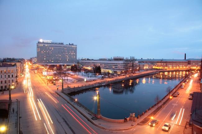 Гостиница «Советская» в Санкт-Петербурге. Фото: ООО «АЗИМУТ Хотелс Компани» via Wikimedia Commons. Лицензия CC-BY-SA-4.0