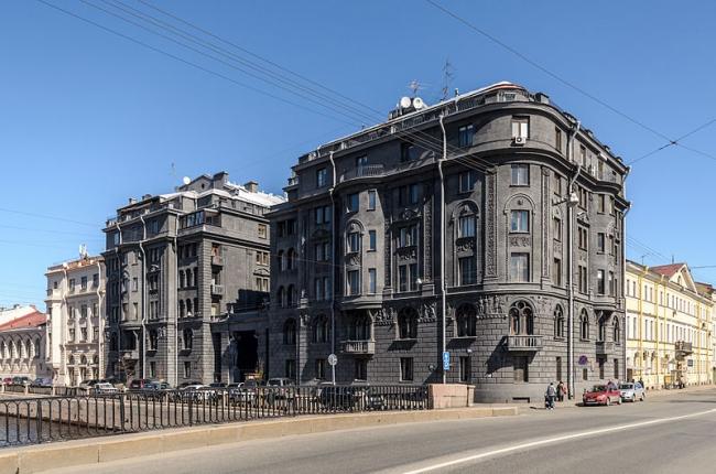Доходный дом Р.Г. Веге. Фото: Alex ′Florstein′ Fedorov via Wikimedia Commons. Лицензия CC BY-SA 4.0