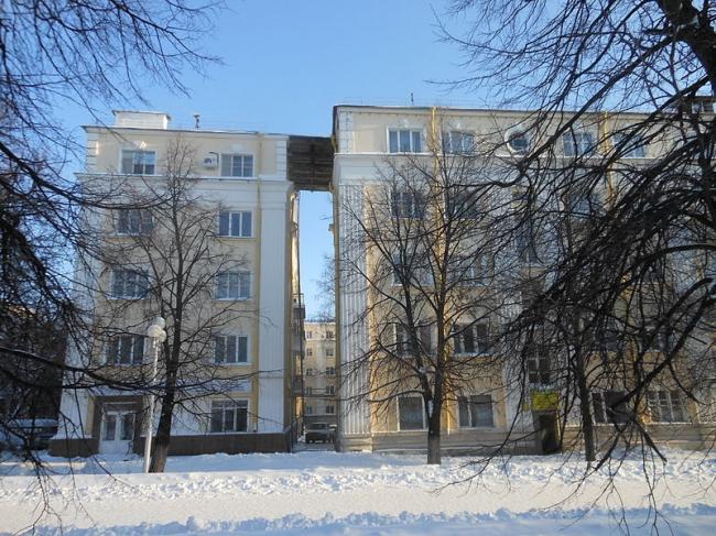 Дом специалистов в Уфе. Фото: Айдар Арсланов via Wikimedia Commons. Лицензия CC BY-SA 3.0