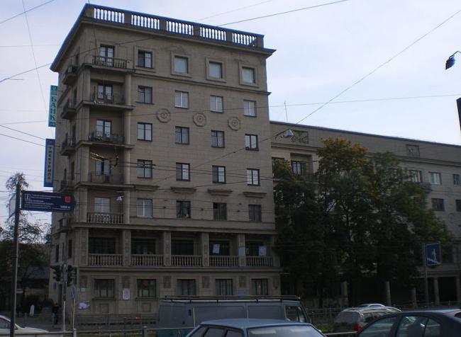 Дом специалистов в Санкт-Петербурге. Фото: Андрей! via Wikimedia Commons. Фото находится в общем доступе