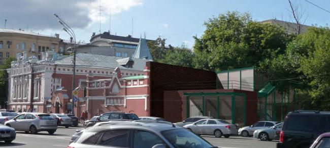 Концертный зал театрального музея им. Бахрушина © ПланАР