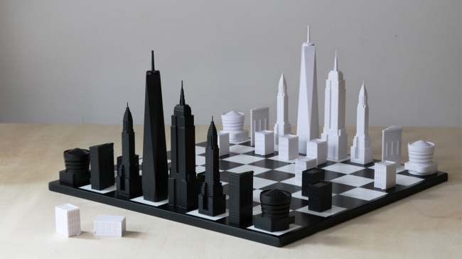 Шахматы Skyline Chess New York Edition. Предоставлено Юлией Шишаловой