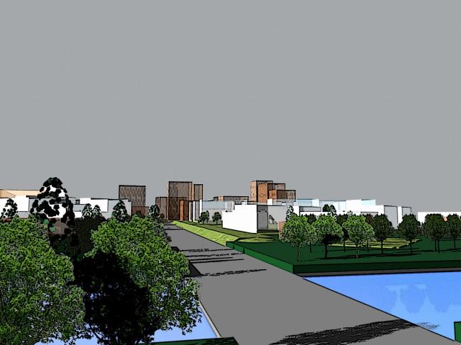 Концепция развития «Восточно-круглинского» жилого района, г. Краснодар © АБ «Остоженка»
