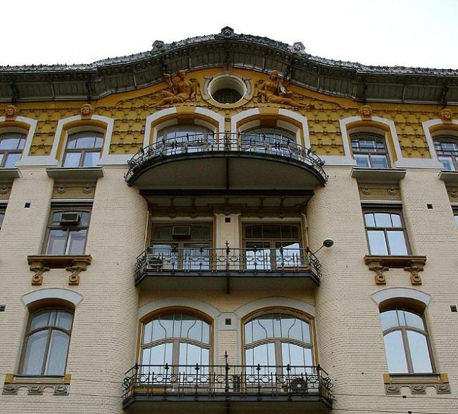Доходный дом И.П. Исакова. Фото: MVO via Wikimedia Commons. Лицензия CC BY-SA 2.5