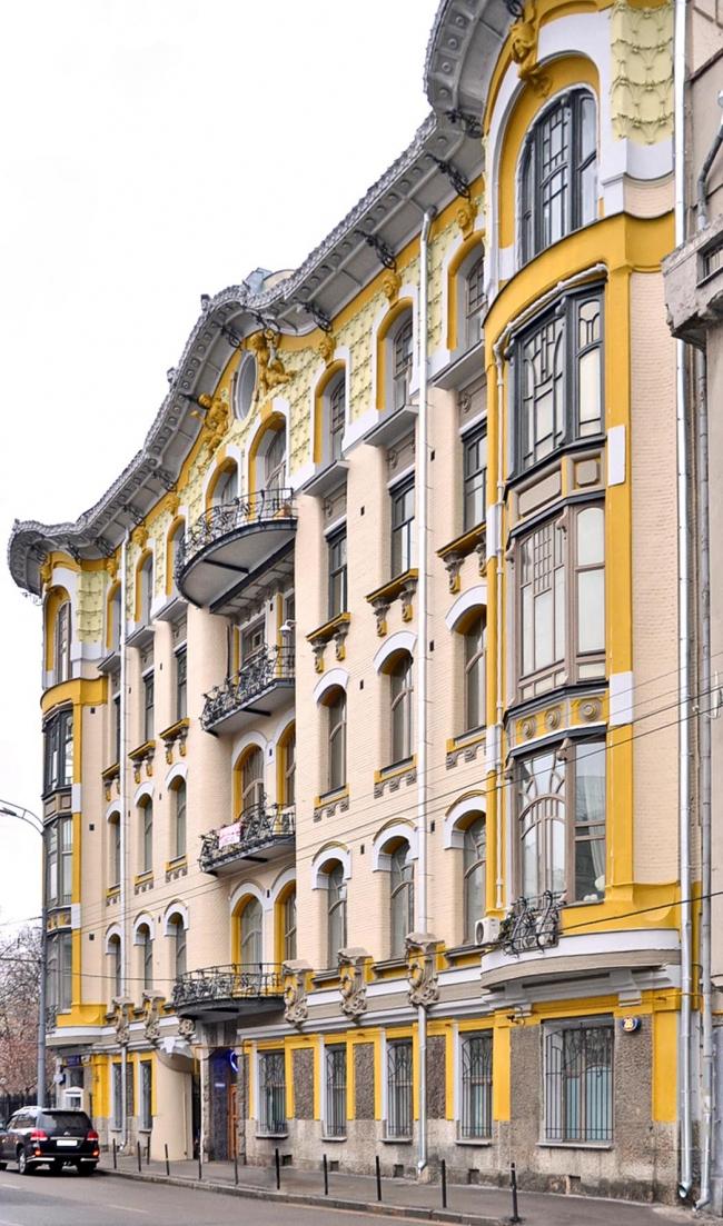 Доходный дом И.П. Исакова. Фото: Moreorless via Wikimedia Commons. Лицензия CC BY-SA 4.0