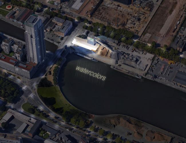 Интеграция завода по производству бетона в городскую среду, Брюссель ©  BC architects & studies