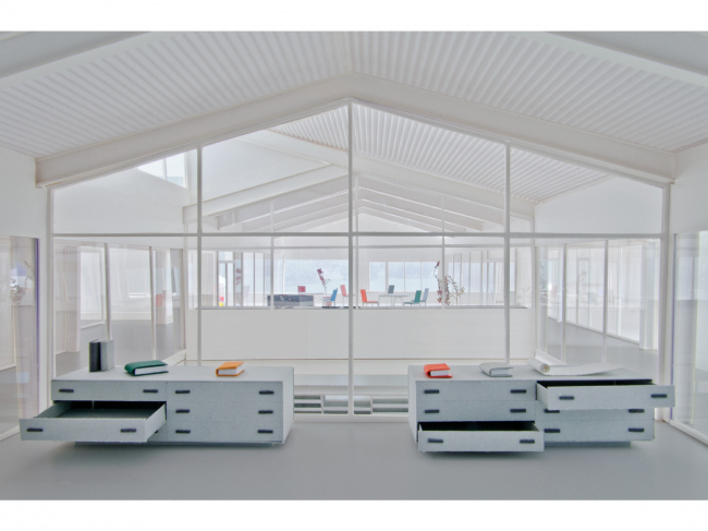 Центр раскопок в городе-музее Августа-Раурика, Швейцария ©  Karamuk Kuo Architects