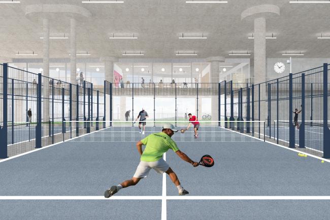 Спортивно-досуговый центр в Бордо ©  NP2F architectes