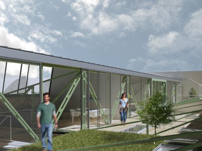 Преобразование бывшей фабрики в жилой район, Польша ©  Malgorzata Mader – Lodz University of Technology