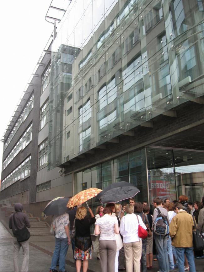 Офисный комплекс «Эрмитаж-Плаза» (проектирование 2003-2004 гг.)