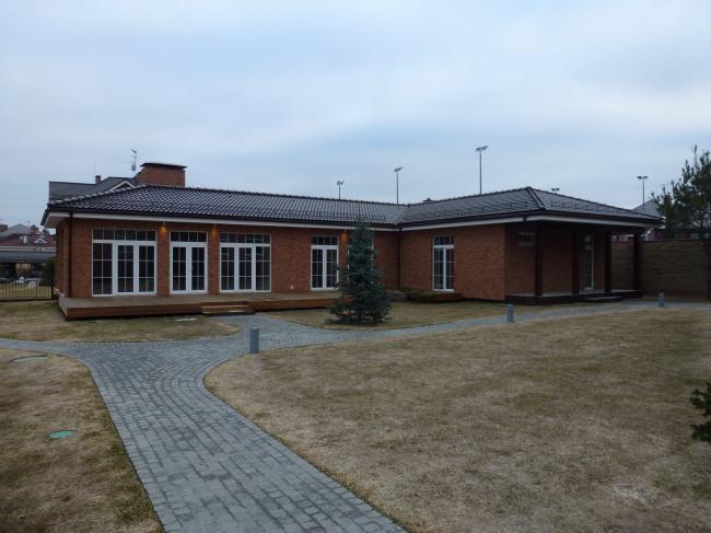 Частный дом в КП «ИмпериалЪ». Фотография © компания «Красные крыши»