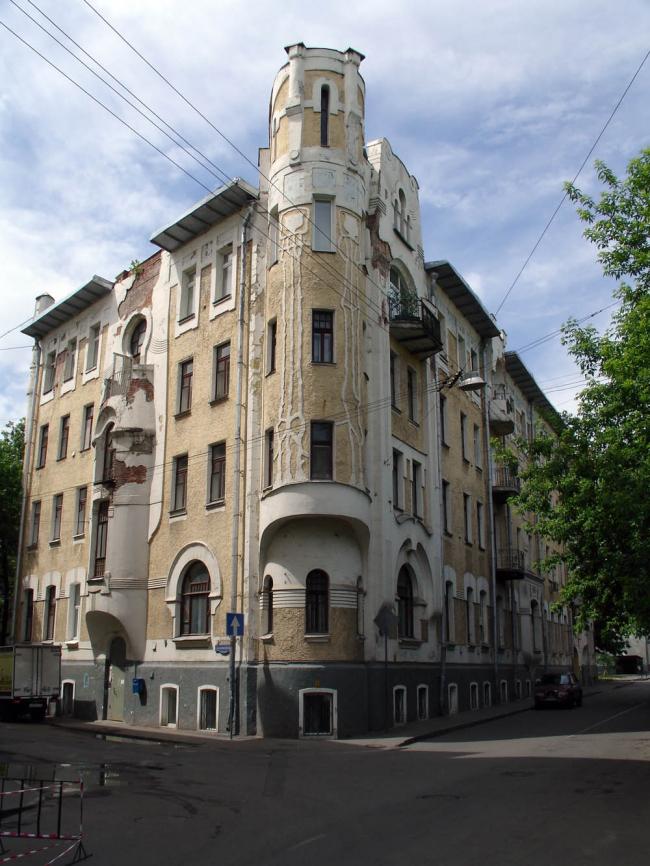 Доходный дом Н.Г. Тарховой. Фото: NVO via Wikimedia Commons. Лицензия CC BY 2.5
