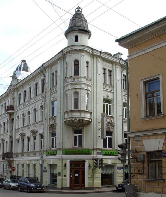 Доходный дом Н.И. Силуанова. Фото: NVO via Wikimedia Commons. Лицензия CC BY 3.0