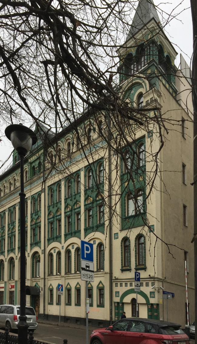 Доходный дом М. Миансаровой. Фото: Springbok via Wikimedia Commons. Лицензия CC BY-SA 4.0