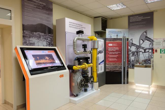 Стенд группы компаний «Специальные системы и технологии» на выставке «Сделано в России: технологии, меняющие мир». Фотография предоставлена ГК «ССТ»