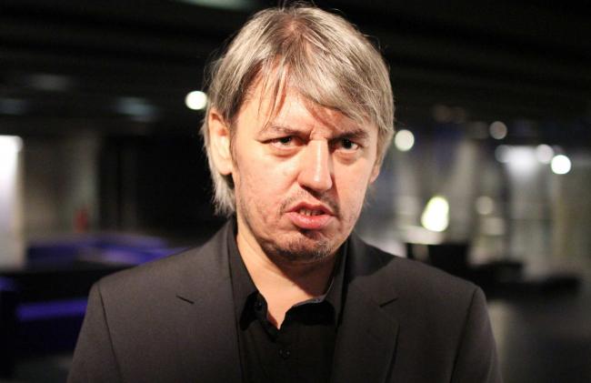 Ильнар Ахтямов, руководитель проекта Анна Андроновой. Фотография © Юлия Тарабарина, Архи.ру