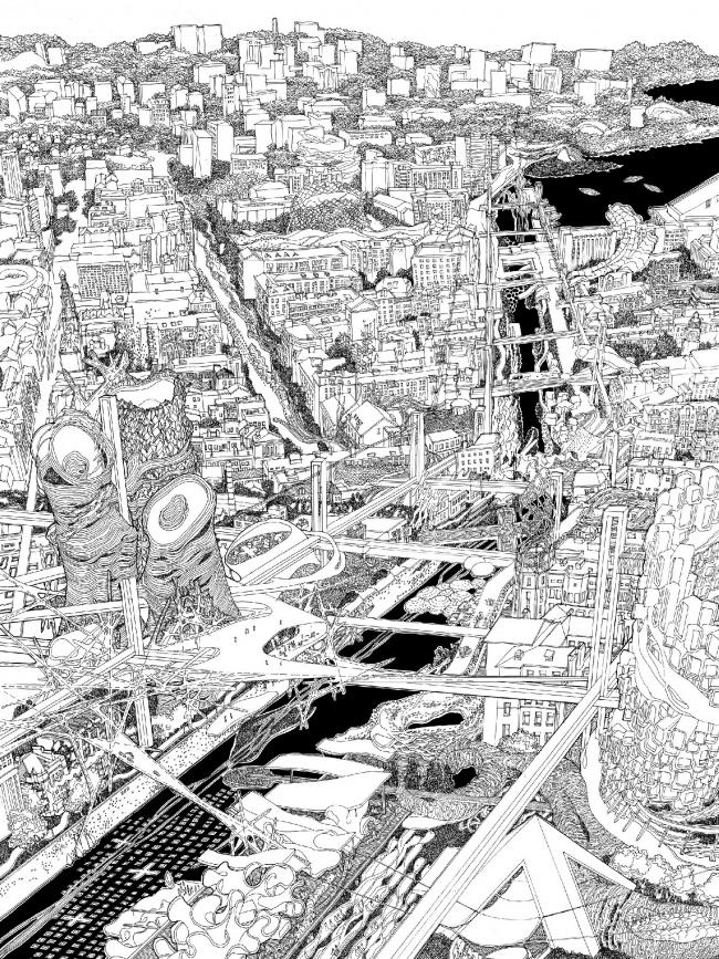 Канал Булак. Часть работы Анны Андроновой «Цифровой Ренессанс», представленной на LafargeHolcim Award 2017 под именем «Жидкая эра»