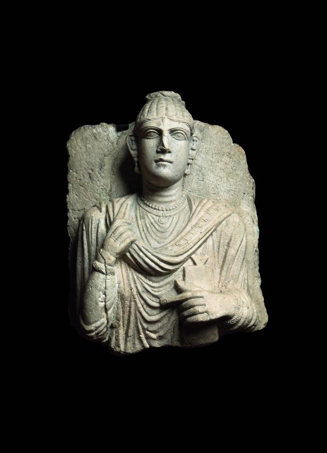 Погребальный рельеф с женским портретом. 2-я половина II в. н.э. Музеи Ватикана. Фото © Gianluca Baronchelli