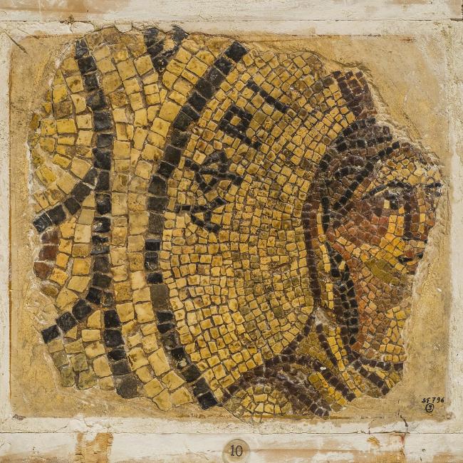 Мозаика с аллегорией Африки. 2-я половина II в. н.э. Музей Святой земли в Иерусалиме. Фото © Gianluca Baronchelli