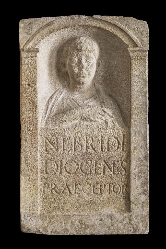 Погребальная стела Небрида. Третья четверть I в. н.э. Национальный археологический музей Аквилеи. Фото © Gianluca Baronchelli