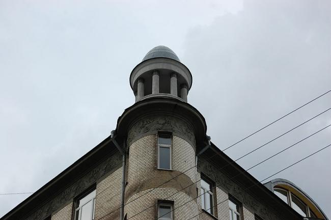 Доходный дом А.И. Шамшина, Москва. Фото: Sigwald via Wikimedia Commons. Лицензия CC BY-SA 4.0