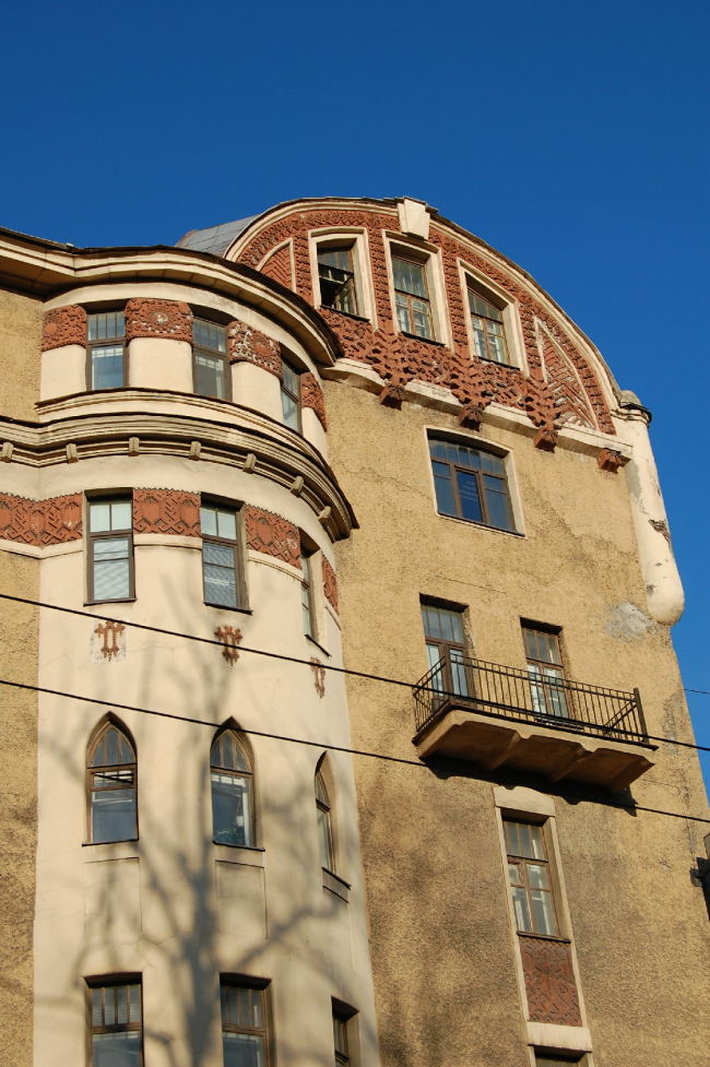 Доходный дом А. Маркова. Фото: Yokki via Wikimedia Commons. Лицензия CC BY-SA 3.0