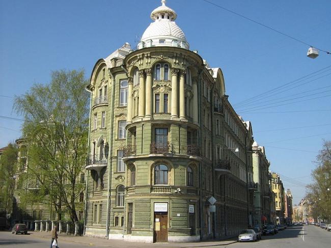 Доходный дом Колобовых. Фото: Potekhin via Wikimedia Commons. Лицензия CC BY-SA 3.0