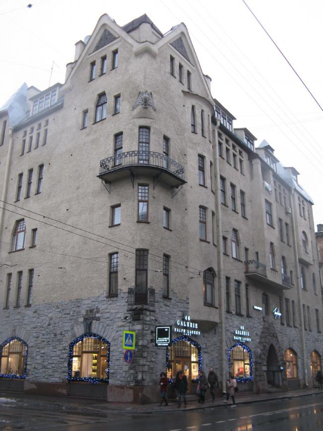 Доходный дом Т.Н. Путиловой. Фото: Pditmar via Wikimedia Commons. Лицензия CC BY-SA 3.0