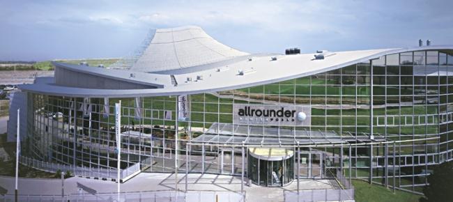 Крытый горнолыжный центр Allrounder Winterworld, г. Нойсс (Германия).  Кровля FDT / репанол. фото http://language.fdt.de/home-ru.html