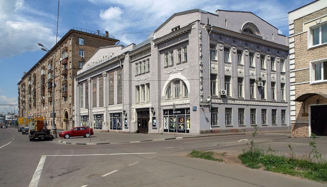 Московская хлебная биржа. Фото: NVO via Wikimedia Commons. Лицензия CC BY 2.5