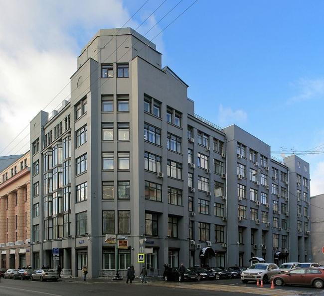 Дом акционерного общества АРКОС. Фото: Ludvig14 via Wikimedia Commons. Лицензия  CC BY-SA 4.0