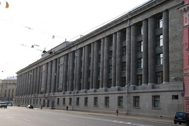Здание бывшей академии лёгкой промышленности. Фото: Vorkott via Wikimedia Commons. Фото находится в общем доступе