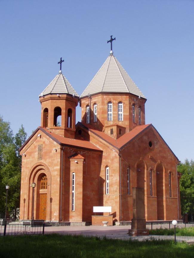 Церковь Христа Всеспасителя. Фото: Alexander V. Solomin via Wikimedia Commons. Лицензия CC BY 3.0