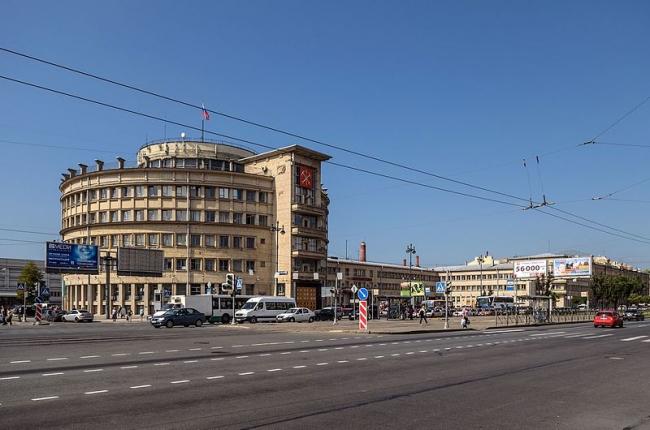 Московский райсовет. Фото: Alex ′Florstein′ Fedorov via Wikimedia Commons. Лицензия CC BY-SA 4.0
