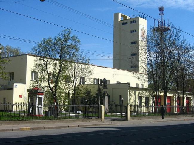 Калининская пожарная часть. Фото: Maryanna Nesina via Wikimedia Commons. Лицензия CC BY-SA 2.5