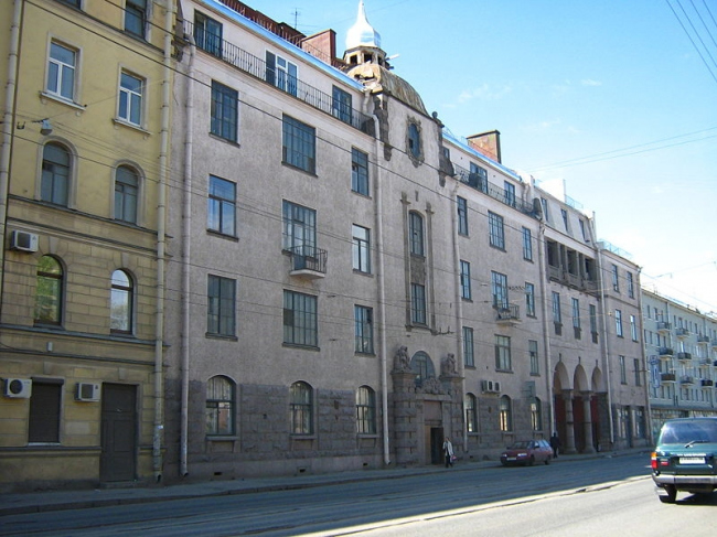 Доходный дом Эммануила Нобеля. Фото: Maryanna Nesina via Wikimedia Commons. Лицензия CC BY-SA 2.5