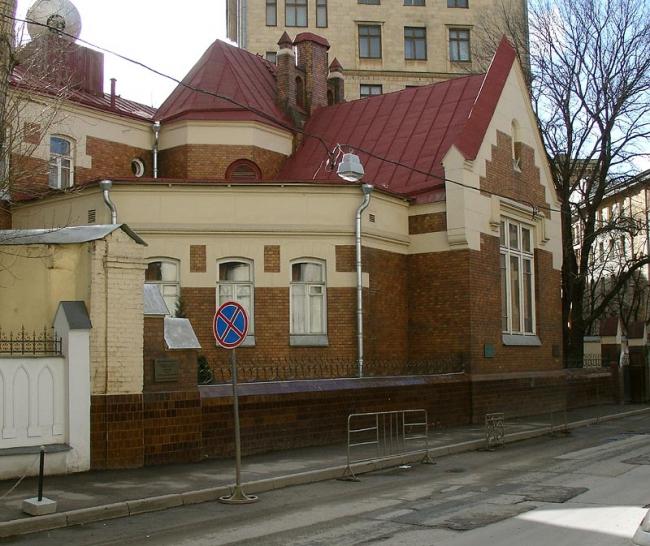 Особняк Ф.Шехтеля в Ермолаевском переулке. Фото: NVO via Wikimedia Commons. Лицензия CC BY-SA 2.5