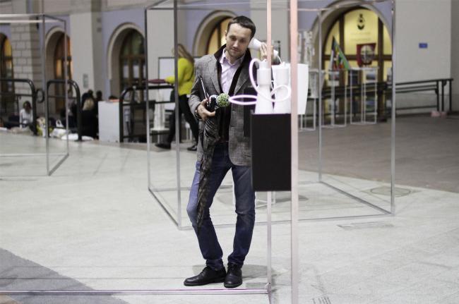 Звуковая инсталляция бюро ТОТЕМЕНТ /PAPER. «Зодчество»-2017. Фотография © Юлия Тарабарина, Архи.ру