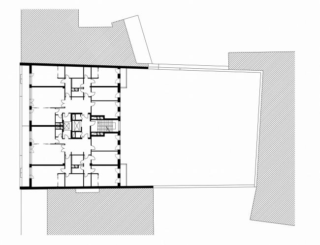 Жилой дом в Пожарском переулке