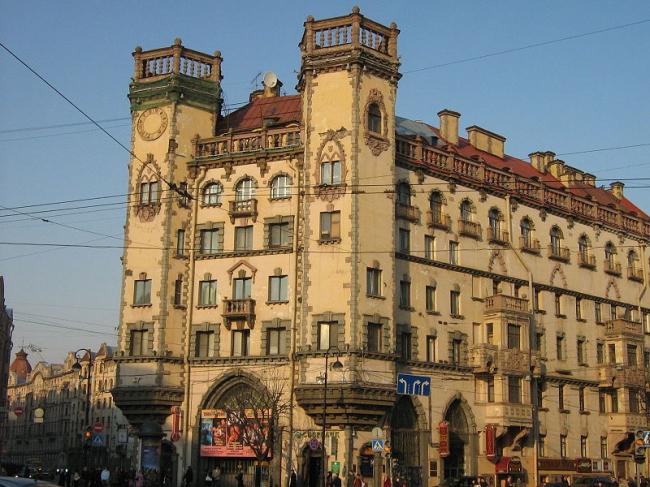 Дом с башнями. Фото: Alexander Y. Potekhin via Wikimedia Commons. Лицензия CC BY 3.0