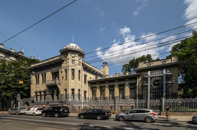 Особняк М.Ф. Кшесинской. Фото: Florstein via Wikimedia Commons. Лицензия CC BY-SA 4.0