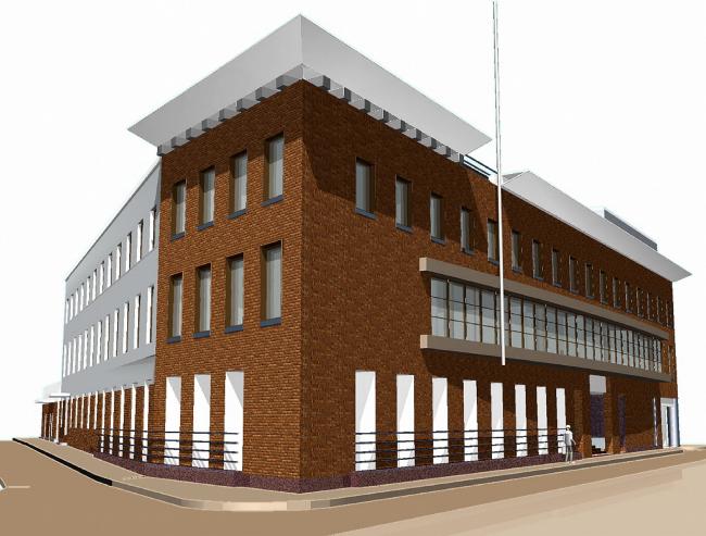Офисное здание ГлавУПДК © АБ Остоженка